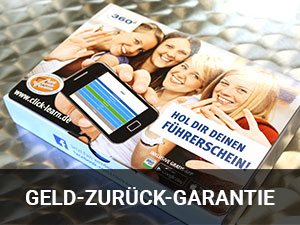 GELD-ZURÜCK-GARANTIE